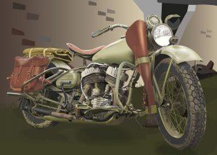 1942Harley-DavidsonWLA