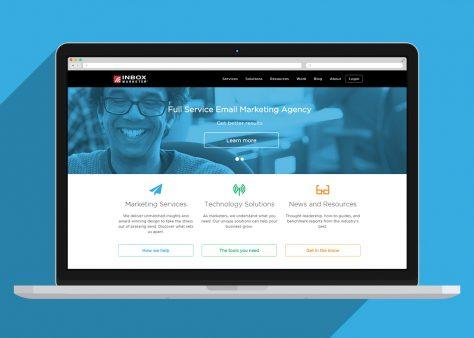 inbox marketer website design